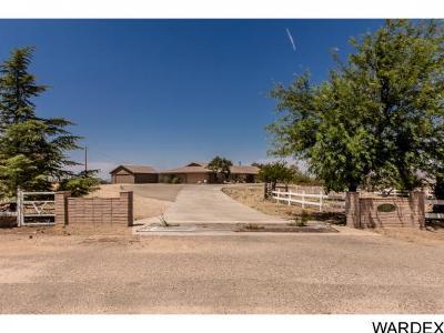 Kingman Single Family Home For Sale: 3130 Hualapai Mountain Rd