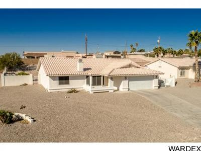 Lake Havasu City AZ Single Family Home For Sale: $271,500