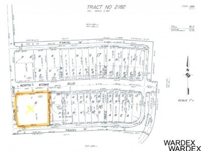 Lake Havasu City Residential Lots & Land For Sale: 2660 N Kiowa Blvd