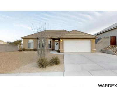 Bullhead City Single Family Home For Sale: 2945 Los Pueblos Dr
