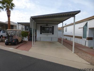 Bullhead City Manufactured Home For Sale: 2000 Ramar Rd #104