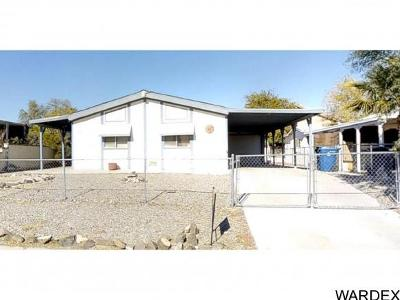 Bullhead City Manufactured Home For Sale: 843 Terrace Dr