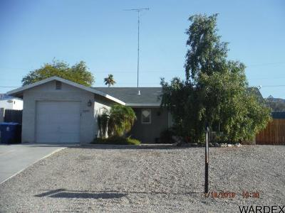 Lake Havasu City Single Family Home For Sale: 3250 Thistle Dr