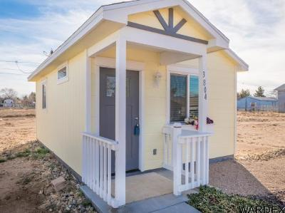 Kingman AZ Single Family Home For Sale: $49,900