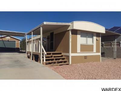 Bullhead City AZ Manufactured Home For Sale: $85,000