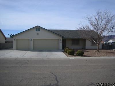 Kingman Single Family Home For Sale: 3919 N Diamond Dr