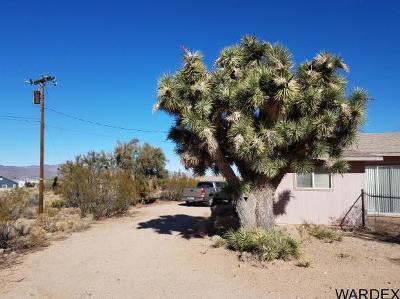 Kingman Single Family Home For Sale: 3375 Hualapai Mountain Rd