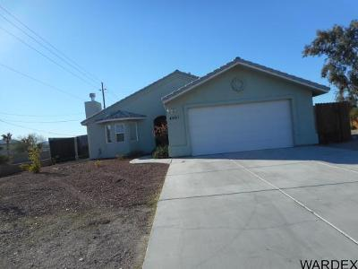 Fort Mohave Single Family Home For Sale: 4501 S Calle Del Media