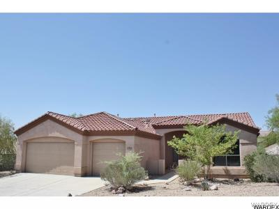 Bullhead City Single Family Home For Sale: 2923 Fort Silver Dr