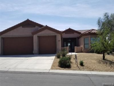 Bullhead City Single Family Home For Sale: 2830 Fort Mojave Dr