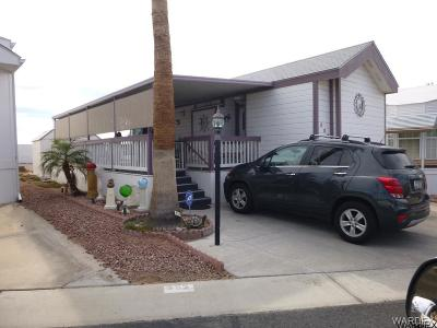Bullhead City AZ Manufactured Home For Sale: $72,000