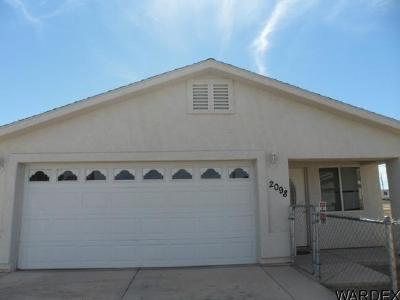 Bullhead City Single Family Home For Sale: 2098 Hermosa Dr