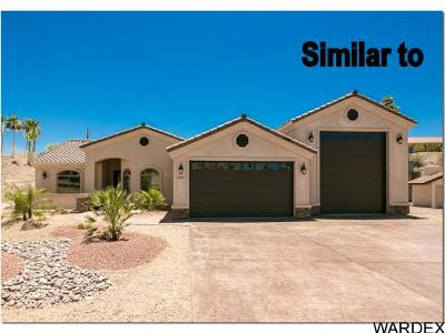 Lake Havasu City Single Family Home For Sale: 1755 On Your Own Level Lot