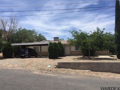 Kingman AZ Single Family Home For Sale: $164,900