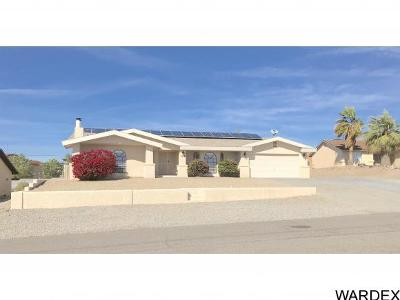 Lake Havasu City Single Family Home For Sale: 3479 Whitecap Dr
