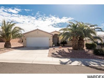 Bullhead City AZ Single Family Home For Sale: $172,000