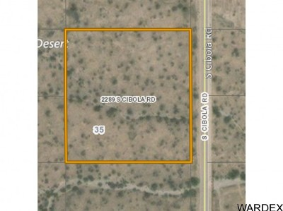 Residential Lots & Land For Sale: 2289 S Cibola Rd