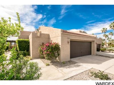 Lake Havasu City Condo/Townhouse For Sale: 2526 Pebble Beach Loop