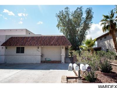 Bullhead City Condo/Townhouse For Sale: 2677 Country Club Dr