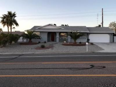 Lake Havasu City Single Family Home For Sale: 2897 N Palo Verde Blvd N