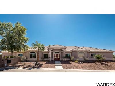 Bullhead City Single Family Home For Sale: 2596 Majestic Way