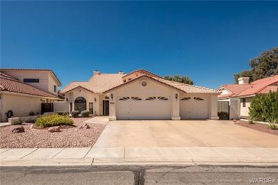 Bullhead City Single Family Home For Sale: 2043 Lause Bay