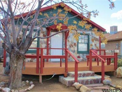 Kingman AZ Single Family Home For Sale: $90,000