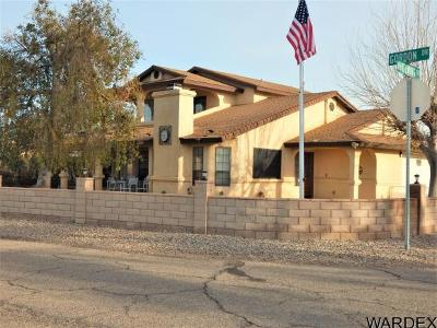 Mohave County Single Family Home For Sale: 7810 S Whitewing Drive
