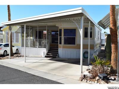 Bullhead City AZ Manufactured Home For Sale: $116,500