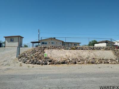 Topock/golden Shores Single Family Home For Sale: 4797 Pinta Drive