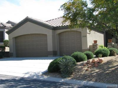 Bullhead City Single Family Home For Sale: 2830 Fort Silver Dr
