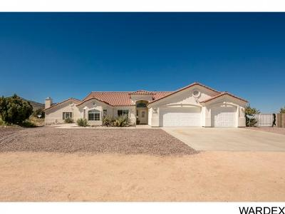 Kingman Single Family Home For Sale: 5803 N Bull Mountain Drive