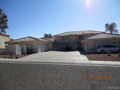 Bullhead City Multi Family Home For Sale: 857 N Warren Rd