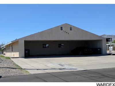 Bullhead City Multi Family Home For Sale: 1495 Church Dr