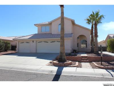 Fort Mohave Single Family Home For Sale: 1906 E Owens Lake Drive