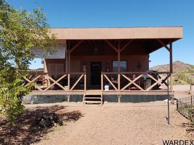 Mohave County Manufactured Home For Sale: 7875 E Spirit Ridge Rd