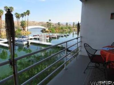 Bullhead City Condo/Townhouse For Sale: 1800 Clubhouse Dr #d34