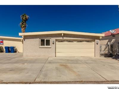 Bullhead City Single Family Home For Sale: 1441 Riverfront Dr