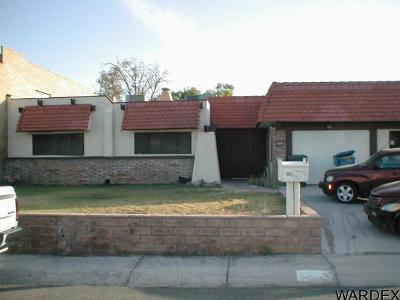 Bullhead City Single Family Home For Sale: 2589 Country Club Dr
