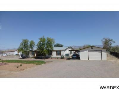 Mohave County Manufactured Home For Sale: 7266 S Harquahala Drive