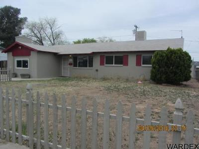 Kingman Single Family Home For Sale: 2905 Arthur St