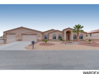 Lake Havasu City Single Family Home For Sale: 2505 Avocado Ln