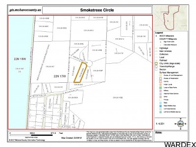 Golden Valley Residential Lots & Land For Sale: Smoketree Circle