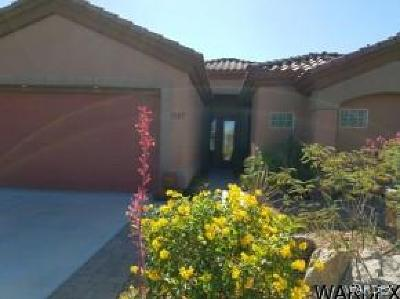 Bullhead City Single Family Home For Sale: 1487 Aztec Cv