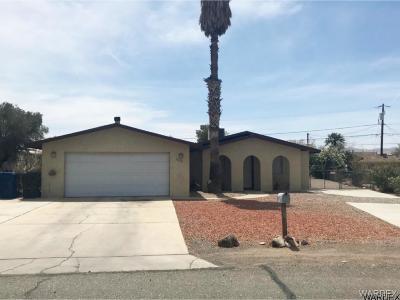 Bullhead City Single Family Home For Sale: 1609 Villa Ln