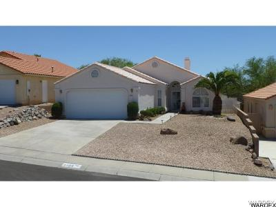 Bullhead City Single Family Home For Sale: 2184 Sierra Santiago