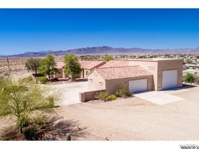Topock/golden Shores Single Family Home For Sale: 5136 E Concho Circle