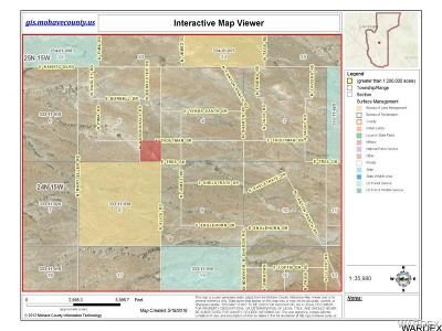 Kingman Residential Lots & Land For Sale: 35.7acre N Tres And N Alice Road