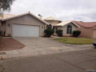 Mohave Valley Single Family Home For Sale: 2460 E Palo Verde Drive