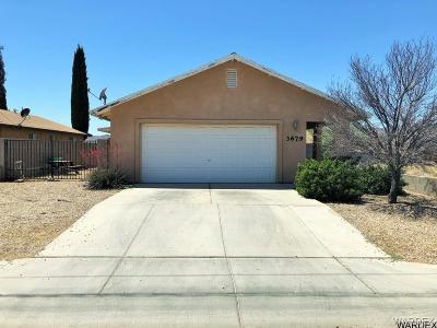 Kingman Single Family Home For Sale: 3679 N Roosevelt St